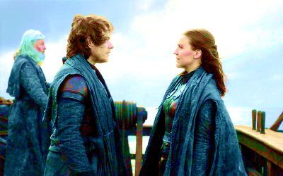 ...and then Theon and Yara hug and go back home to the Iron Islands and rule happily ever after, the