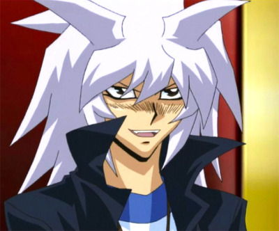 And why not Yami Bakura from Yu-Gi-Oh fer another?