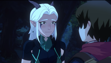 I feel like nominate some characters myself . Rayla from The Dragon Prince