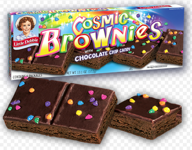 Cosmic Brownies came out during the 50s, which means they are officially In Play.
