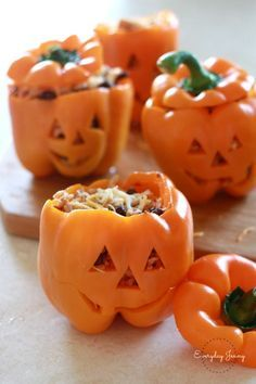 Stuffed Jack O' Lateran Peppers