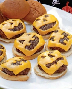 Naughty Cheese Burgers!