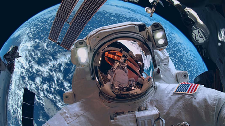 Imagine how terrifying it would be to free float in space!