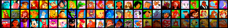 This may be a lazy creation, but it definitely contains the most characters. =P (Cropped from the Who