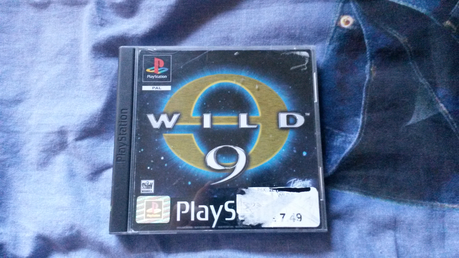 Now playing Wild 9, a PS1 game I just bought. Pretty retro!