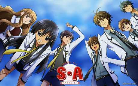 To me, I loved Special A because: 1 - Hikari. 2 - Kei. 3 - Ryuu. 4 - It made me cry when it end