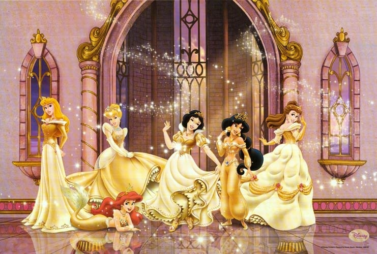 Disney Princess Femslash The Disney Princesses With