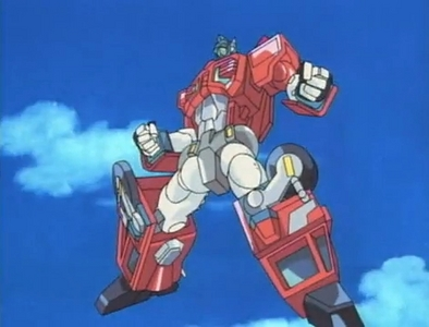O - Optimus Prime (Transformers: Robots in Disguise)