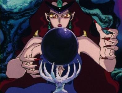 Q-Queen Beryl from Sailor Moon