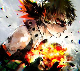 Bakugo from My Hero Academia! :3