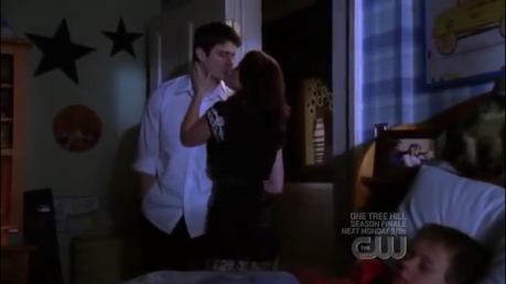 Nathan and Haley in episode 130 which is season 6 episode 23 Nathan says he is tired of failing and