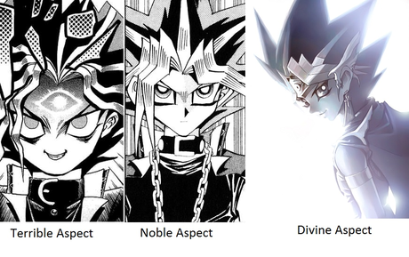 Atem is so awesome because he's been so many different characters.