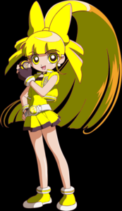 Supename : Blizzard Other name : Shira Kortor Gender : Female Powerpuff color : yellow Wepon : Ph