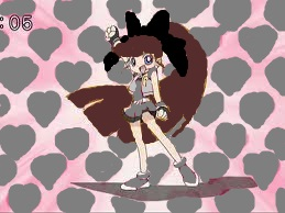 Surename : Brittany Yoshikuno Other name : Boing Gender : Girl Powerpuff's color : Grey Weapon :