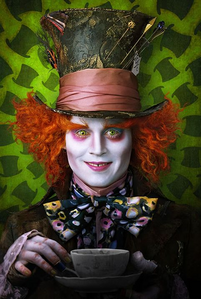 Johnny Depp as The Mad Hatter in Alice in Wonderland wins it hands down