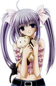 Vocaloid Name: Fate Gender: female age:13 number: 0.10 hair color and style: silver and in two pi