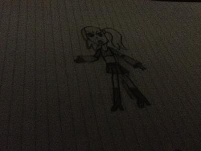 Vocaloid Name: Ringo(apple) Shiga Gender: Female  Age: 18 Hair Color: Indigo Eye Color: Pink Ski