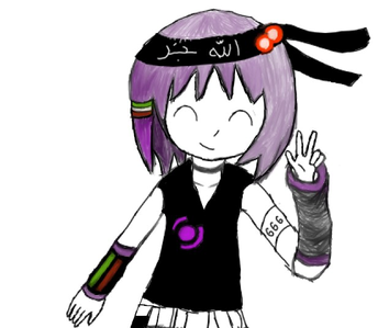 Vocaloid Name: Alice Gender: female Age: 19 Number: 666 Hair Color and Style: Purple Eye Color: