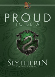 True! According to pottermore I'm a Slytherin! TPBM's least favourite house is Hufflepuff.