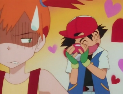 Misty's worser than Dawn/May because She kept moaning at Ash that he caught a bug Pokemon.