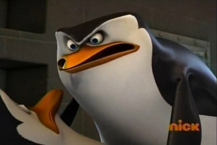 (^Ahaha! XD) IT'S anda KOWALSKI!!!! I ALWAYS KNEW IT WAS YOU!!!!! AAAAAHHHHH!!!! *tackles Kowalski*