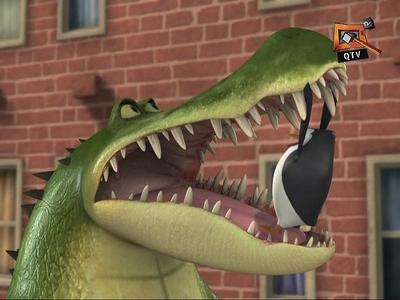 Bad gator! Bad gator! D:
