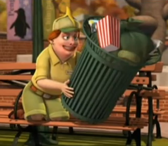 *flirts with trash can*