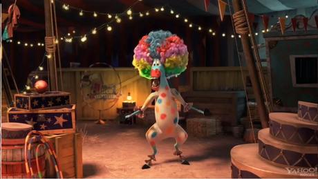 "Tatatatata Circus! Tatatatata Afro Circus Afro Circus Afro! Polka dot polka dot polka dot Afro!"" :D"