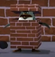 *is an angry brick* (XD)