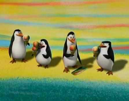 S: KOWALSKI!!! u MANIAC!!! *drops to knees* u did it! u finally really did it! DX K: Yeah, but