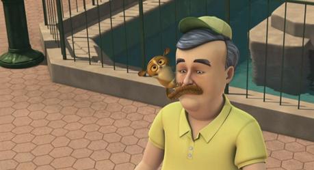 """""""I'm a surprise mustache!"""" :)"""