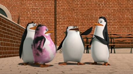 "S: ""Oh, dont blame yourself, Private ... Blame that guy!"" *points at Kowalski* K: ""Ye— what?!"""