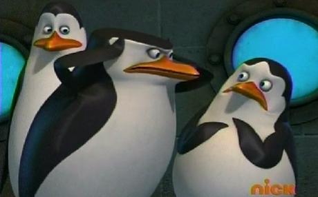 """""""Sorry Skipper, sorry sorry!"""" D:>"""