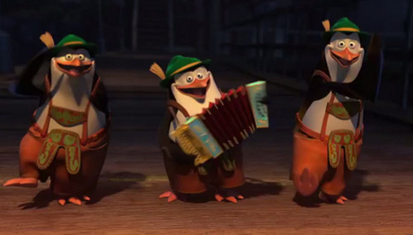 "S: ""We'll take this to our graves."" K:"" ... Agreed. "" *Kowalski and Rico start dancing* (XDD)"