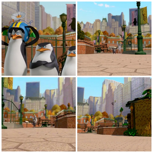 "S: ""Kowalski."" K: *throws lemurs into their habitat*"
