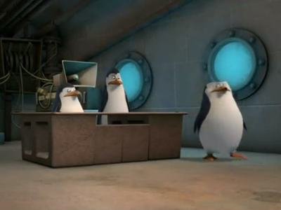"Kowalski: ""But—science—!"" Skipper: ""Nope! I sinabi case closed."""