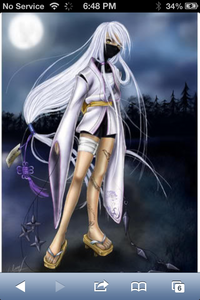 Name : masamune Gender : female Age : 17 Classification : angel ninja History : ma