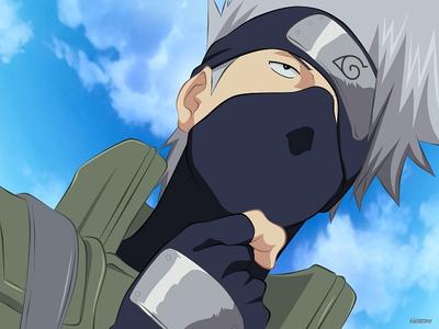 Hatake Kakashi....from Naruto.