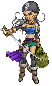 Zola from Blue Dragon