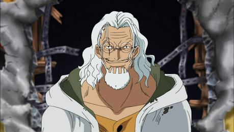 Silvers Rayleigh - one piece the 2nd in command of the Rogger pirates