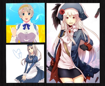 Here. I don't know if these have been done either... OH WELL (still hetalia) 🔸Ukraine 🔸Belaru