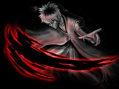 [b]Hollow Ichigo[/b] in his Bankai