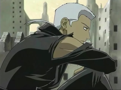 Tsume from wolfs rain!! I love that anime <3