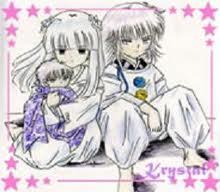 Hakudoshi, the Infant and Kanna from InuYasha. Image is NOT my artwork! Found on Google.