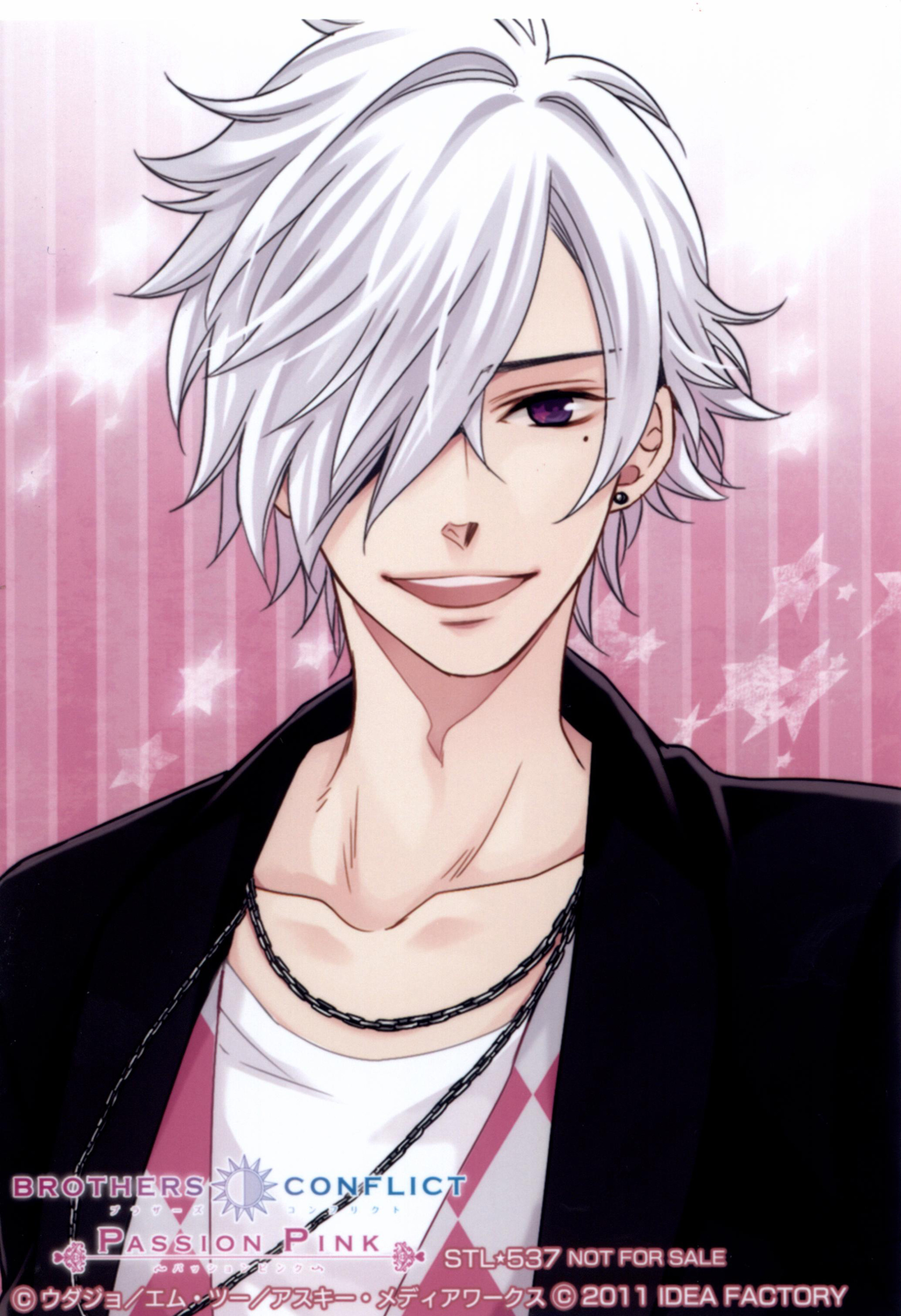 White-Haired Anime Characters ^ ^ - Anime - Fanpop