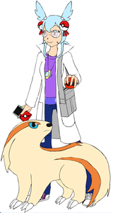Professor Nanho Age: 21 She works at the lab on the main center island, but she tends to do a lot o