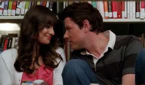 لائبریری [Glee New York episode (Finn and Rachel's last scene)]