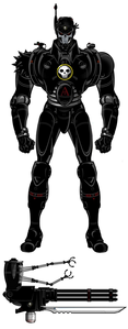 Name: Only known by Shadow Walker Age:Supposedly 15  Gender:Male Classification: Weapon Partner: