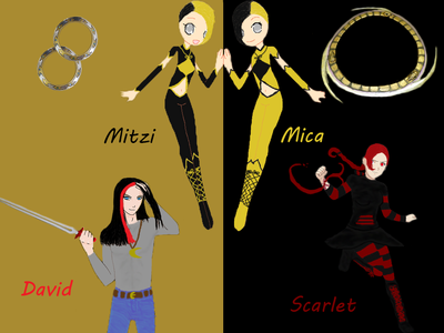 *Name: Musor Meincott (Prefers to be called Scarlet) *Age:15 *Partner: Has had three weapons in her