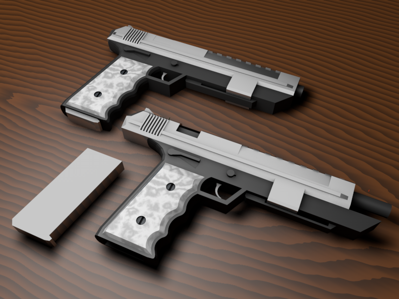 Call of duty ghosts pistols